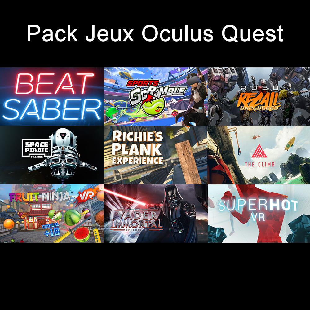 pack jeux
